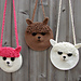 Alpaca Llama bag pattern