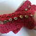 Everything's Rosey One Skein Wristlets pattern