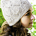 Lace and Cable Hat pattern