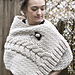 Catrina Cabled Wrap pattern