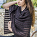 Simply Shimmering Stole pattern