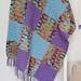 Gingham Waves Blanket pattern