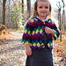 Mitered Entrelac Raglan Sweater pattern