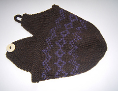 Nordic design earflap hat