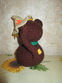 Ravelry: Amigurumi Scarecrow Cat and Crow pattern by The Enchanted ... | 320x240