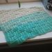 Ombre Basket Weave Baby Blanket pattern