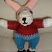 Gladstone Bunny pattern