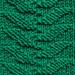 GROWING LEAVES Dishcloth pattern