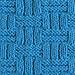 WICKER Dishcloth pattern