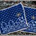 Grytekluter - Advent // Christmas Potholders pattern