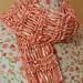 Cherry Blossom Drop Stitch Scarf pattern