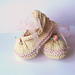 Posh Party Baby Shoes pattern