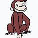 Monkey Graph - Curious George pattern