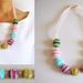 Crochet beads' necklace pattern