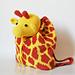 Giraffe backpack pattern