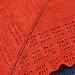 Boomerang Shawl pattern