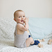 Babydrakt med gammel strikketeknikk pattern