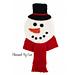 Snowman Wall Hanging pattern
