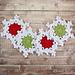 Snowflake Coasters pattern