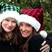 Holiday Plaid Santa Hat pattern