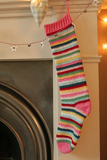 Ravelry Candy Stripe Stocking And Twinkle Toe Socks