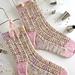 Sugar Icing Socks pattern