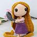 Rapunzel Princess Amigurumi pattern