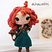 Merida Princess Amigurumi pattern
