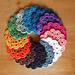 Rainbow Coaster pattern