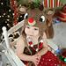 Rudolph Reindeer hat pattern