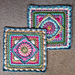 The Jackfield Tile Square pattern