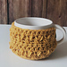Coffee Bean Cup Cozy pattern