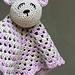 Bettie Bear Lovey pattern