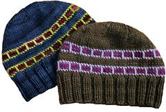 2 SlipStitch Hats