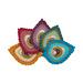 Peacock Feather Java Motif pattern