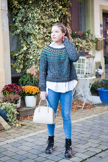 Indie Design Gift Along 2020 Sweater Favourites Bobbles Sweater by Christelle Nihoul