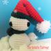 Tiny Christmas Snowman pattern