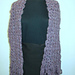 Double V Scarf with Scalloped Edges pattern