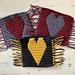 Mosaic Heart Trivet pattern
