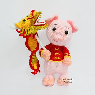 Amigurumi Pattern 【Chinese Lion Dance】 | Crochet lion, Amigurumi ... | 320x320
