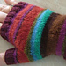 Telescope Knitting Mitts pattern