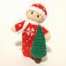 Christmas Bitsy Baby Doll pattern
