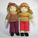 Jesse and Josie dolls pattern