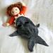 Shark Attack! Dolls Blanket pattern