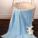 Little Boy Blue Baby Blanket pattern