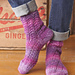Twisting Lace Socks pattern