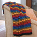 Happy Granny Stripe Afghan pattern