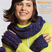 Scarf and Hand Warmers Crocheted Set pattern