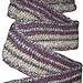 Vertical Stripe Scarf pattern