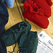 Ruffled Top Slippers pattern